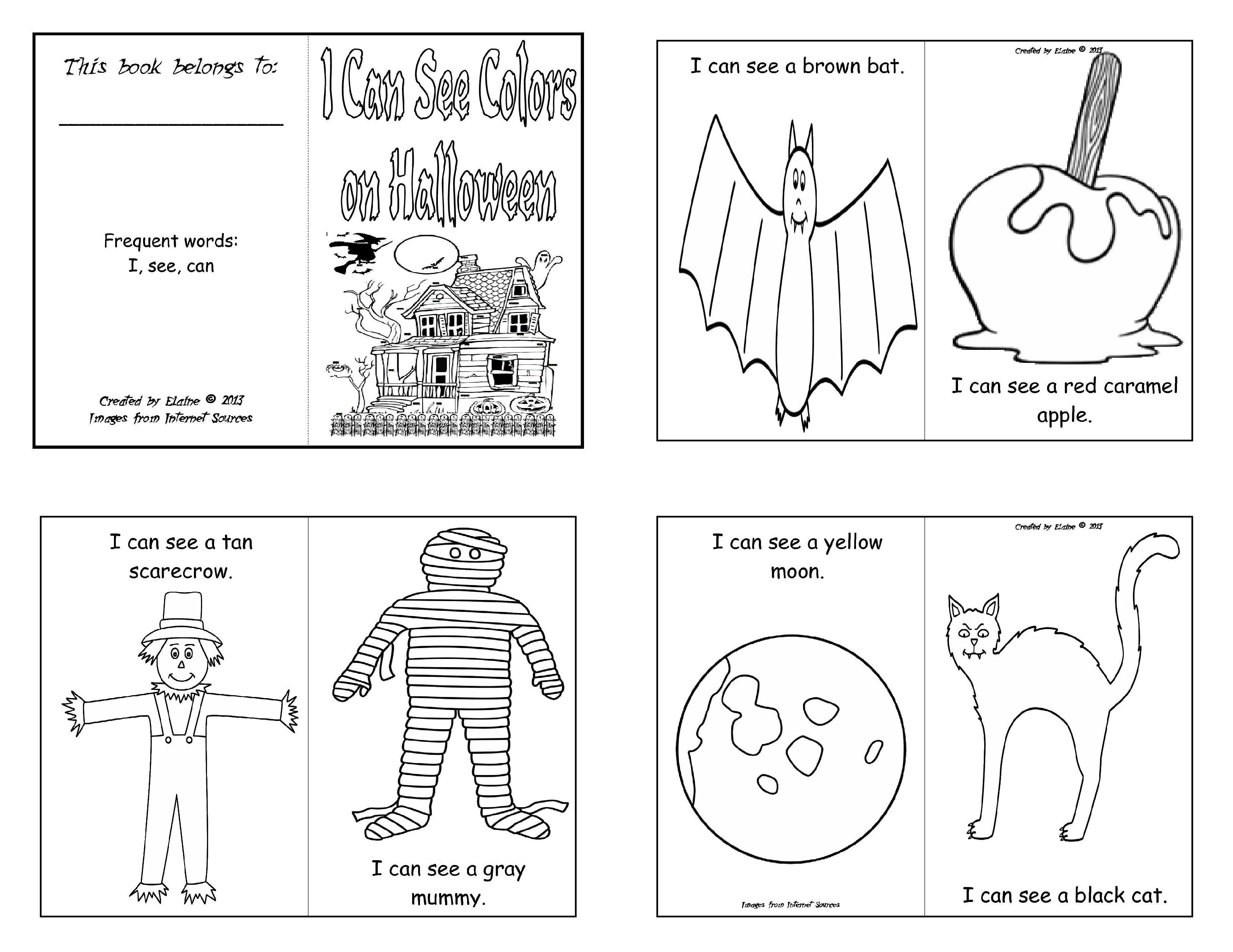 mini books coloring pages - photo#16